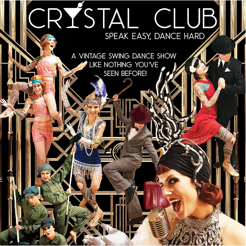 Scaled crystal club