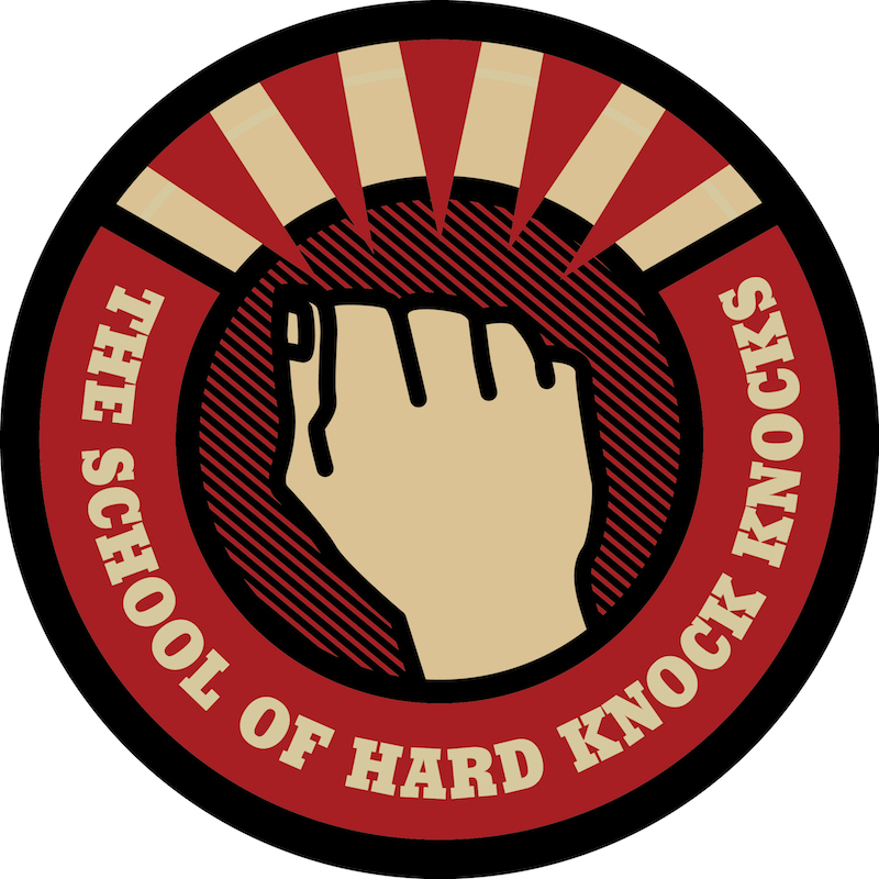 Scaled school of hard knock knocks big logo 800x800