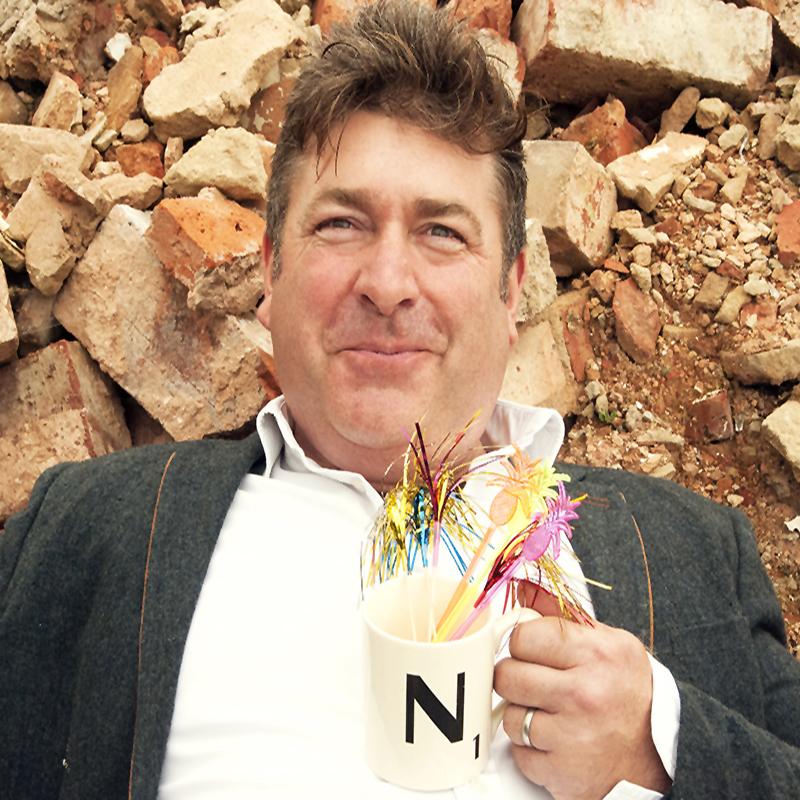 Scaled nick on rubble closesized