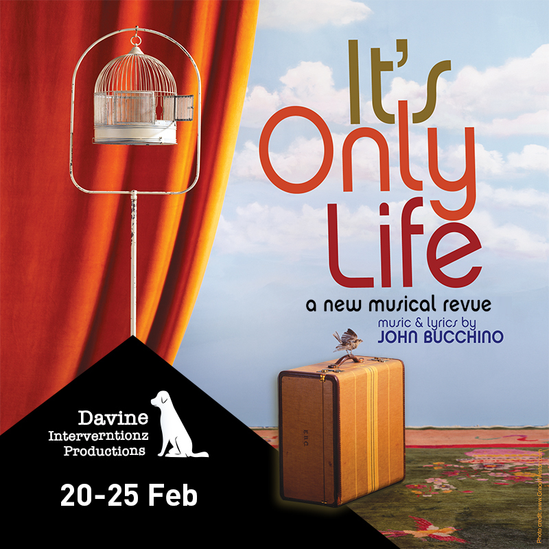 It's Only Life - A New Musical Revue featuring John Bucchino - Event image