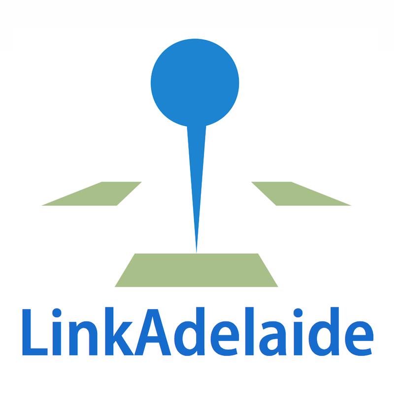 Scaled linkadelaide logo