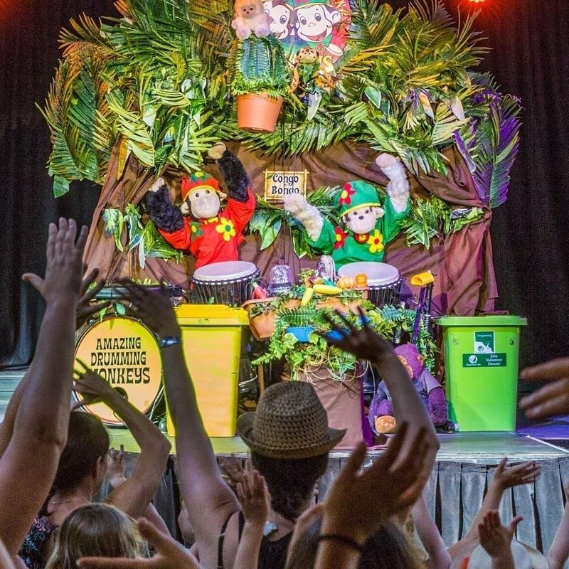 Amazing Drumming Monkeys - Event image