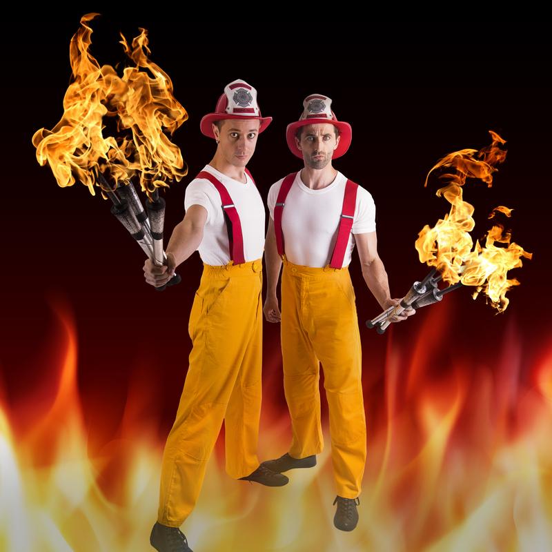Scaled idris josh fire pose 1