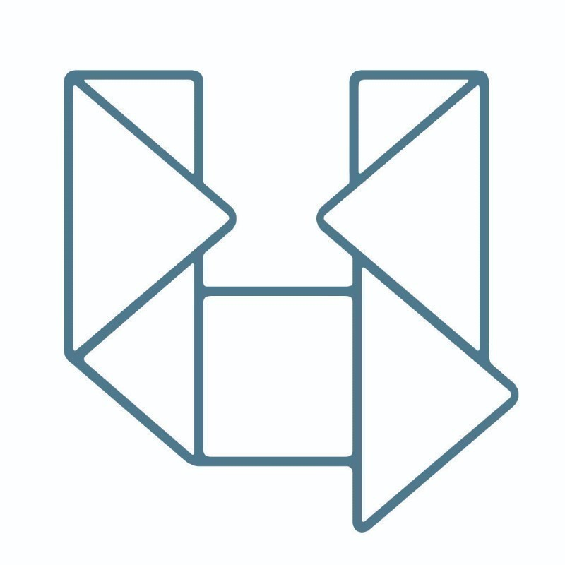 A geometric shape in the shape of the letter U.