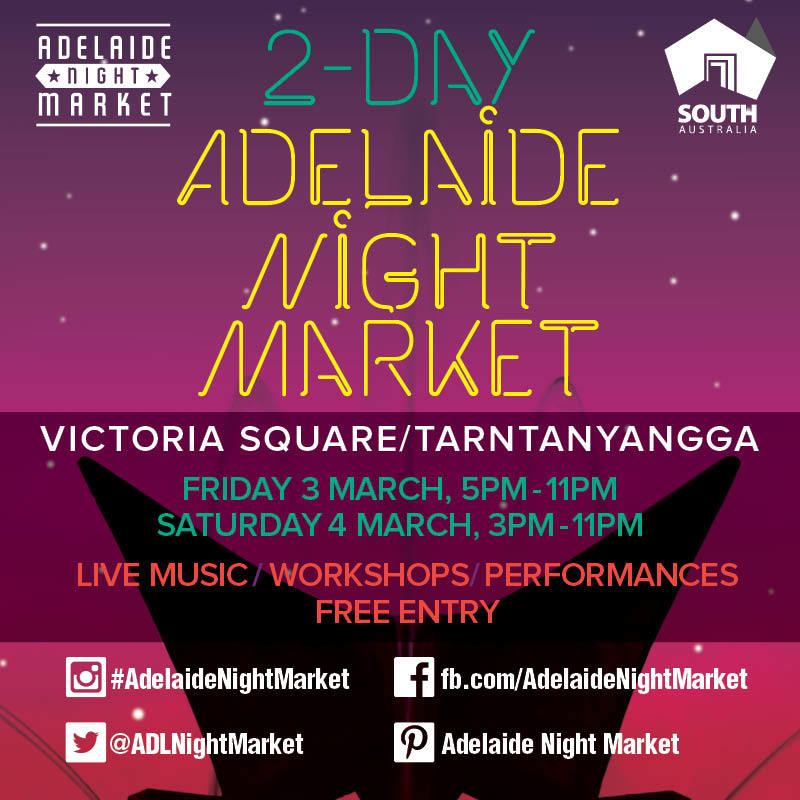 2-day Adelaide Night Market  - Event image