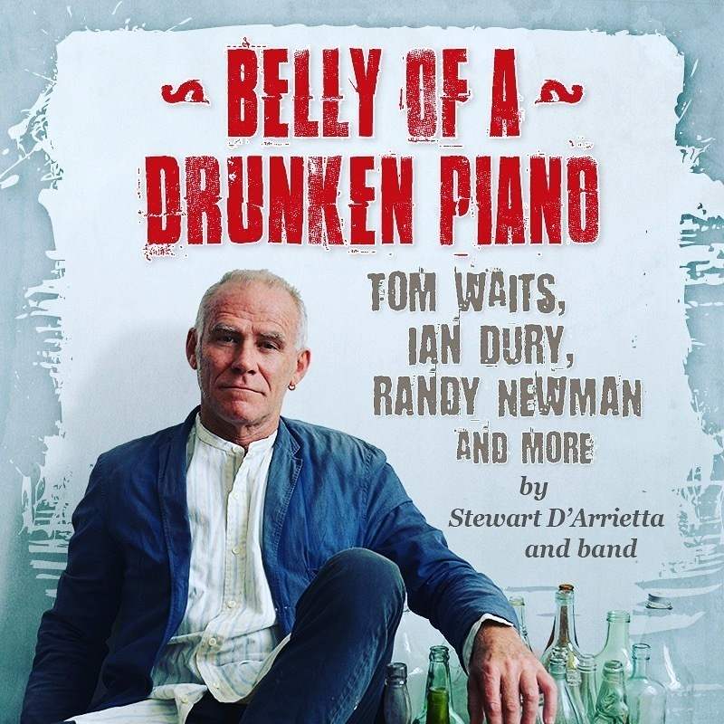 Scaled belly of a drunken piano