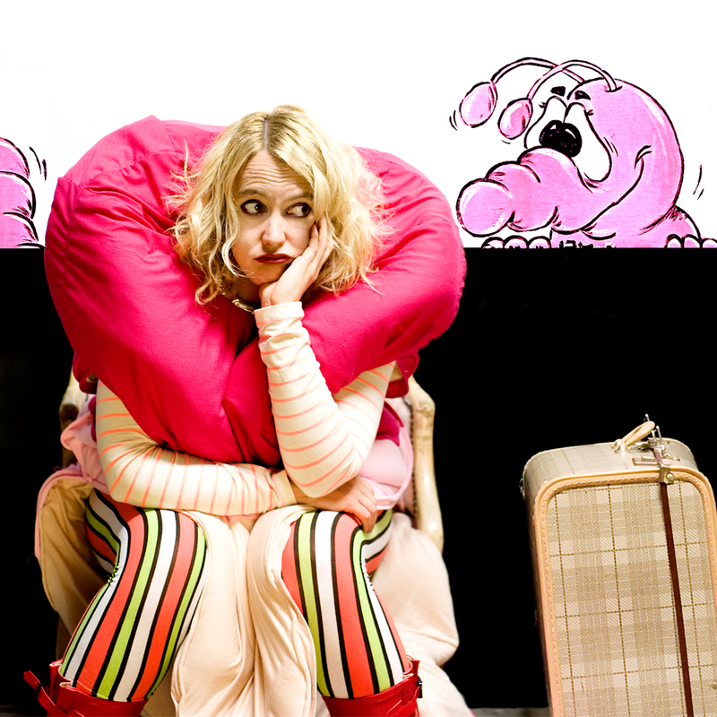 Melita Rowston's Shit Tourism presents THE GIANT WORM SHOW! - Event image
