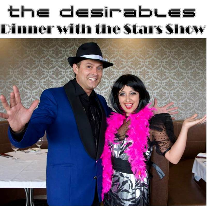 Scaled the desirables dinner with the stars show