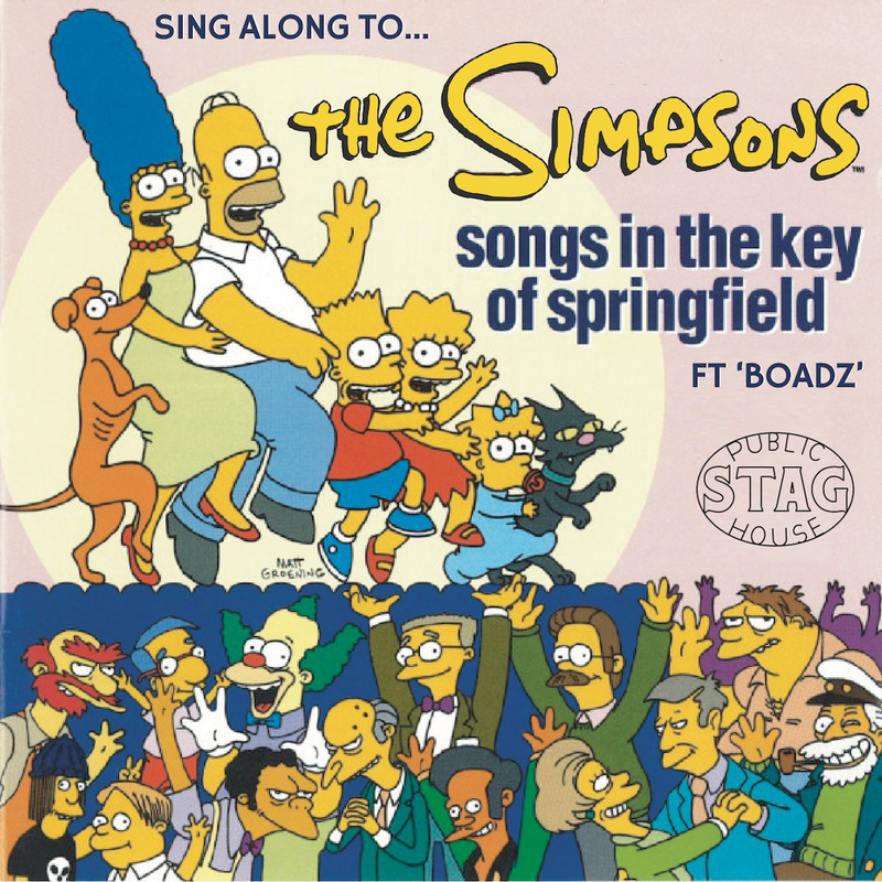Scaled simpsons tile