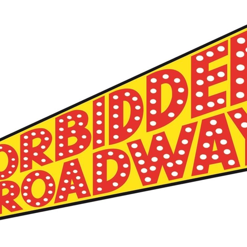 Scaled forbidden broadway logo