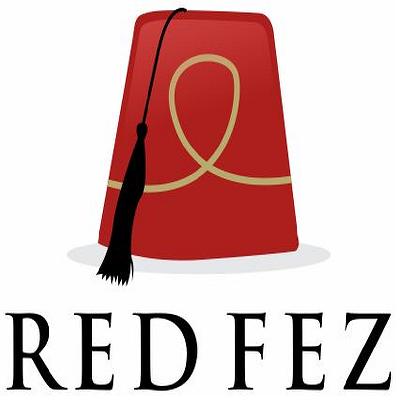 Scaled red fez  3800