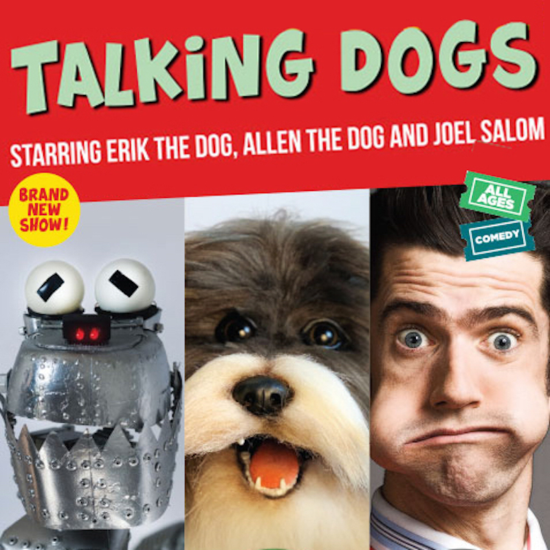 Scaled talking dogs