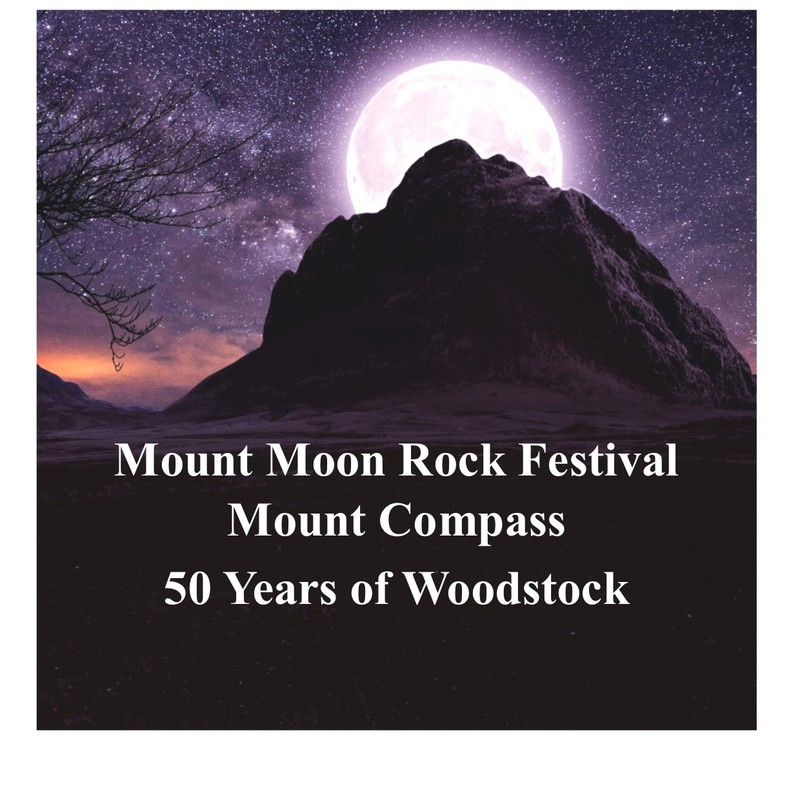 Scaled mount moon