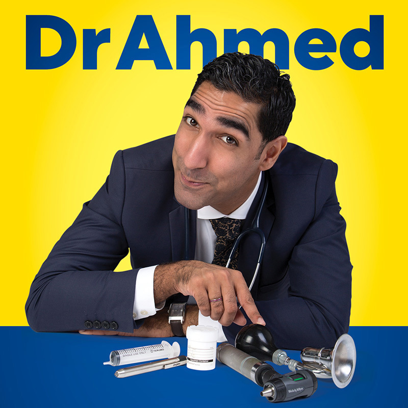 Scaled comedy dr ahmed adelaide