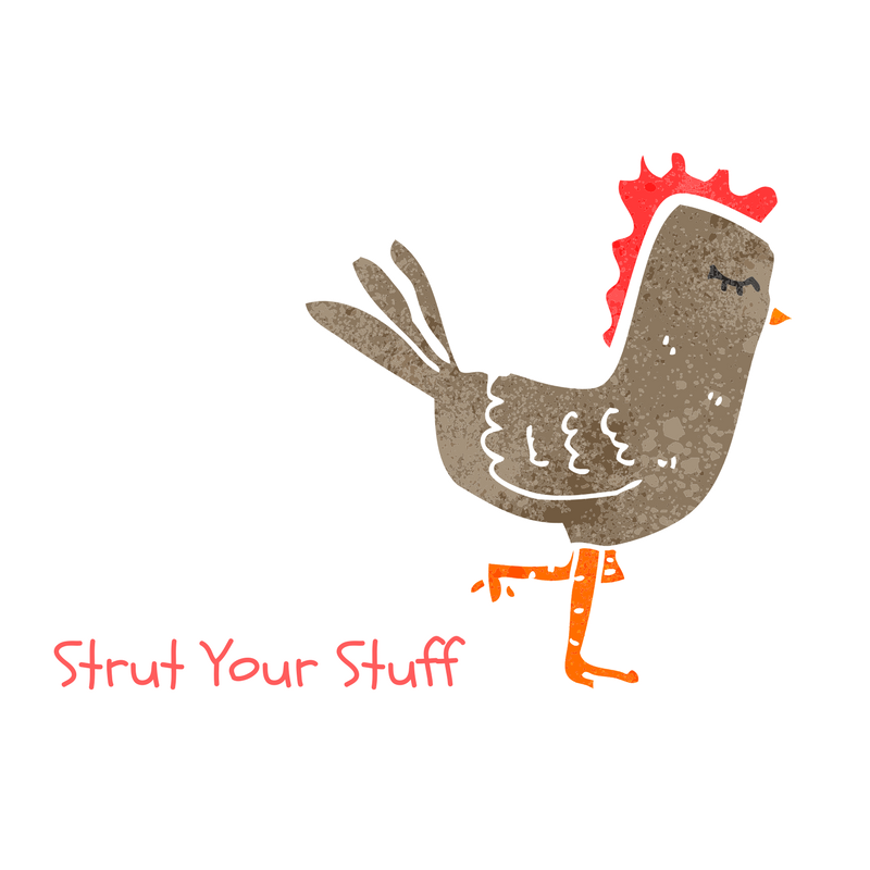 Scaled copy of strut your stuff