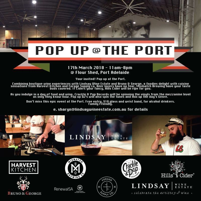 Pop up at the Port - Event image