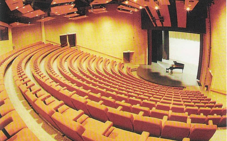 Scaled auditorium picture